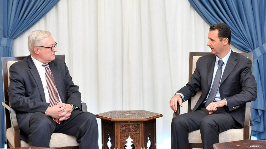 Асад: Позицията на Русия води до ново съотношение на силите