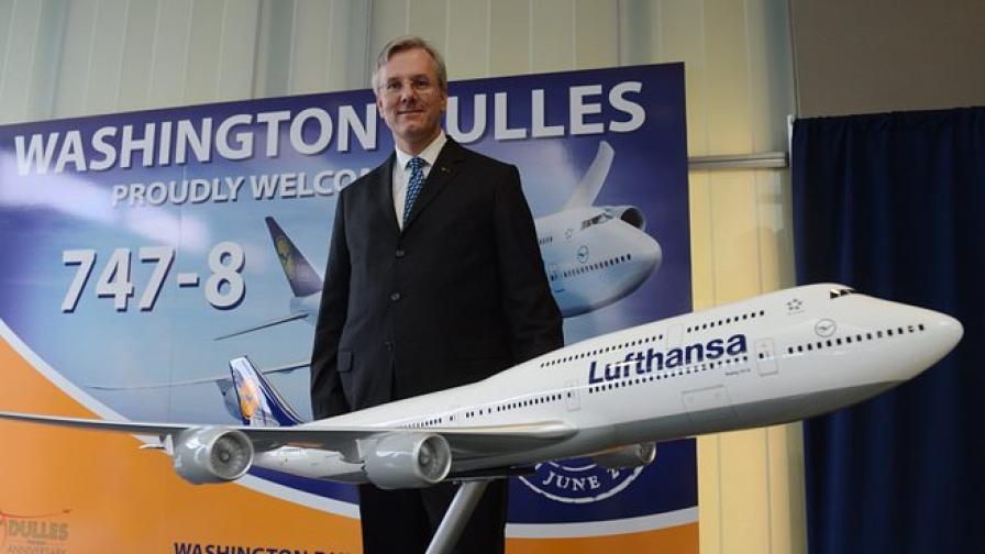 Луфтханза пазарува самолети за 14 млрд. евро