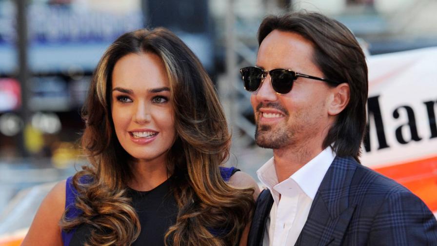 Тамара Екълстоун и съпругът й