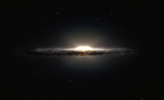 Учени потвърдиха, че има свръхмасивна черна дупка в центъра на Млечния път