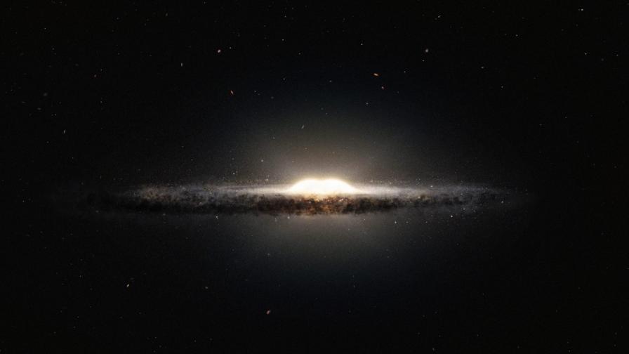 <p>Учени: Има черна дупка в центъра на Млечния път</p>