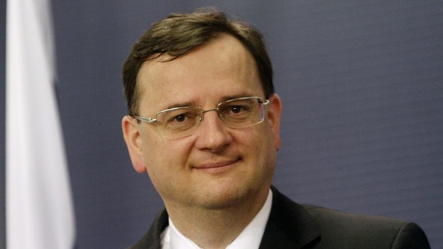 Бившият чешки премиер се ожени за любовницата си
