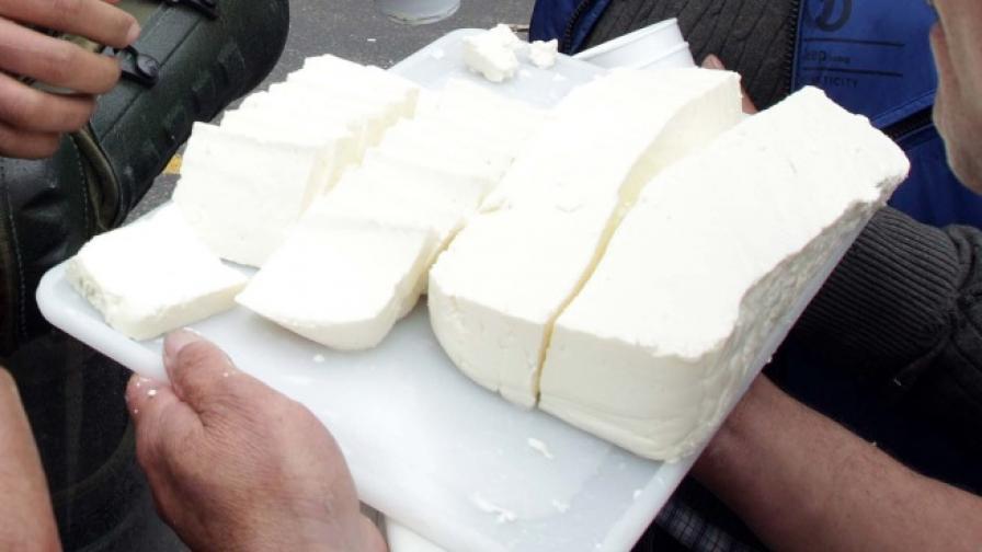 24 тона сирене и 10 тона кашкавал изчезнали от държавния резерв