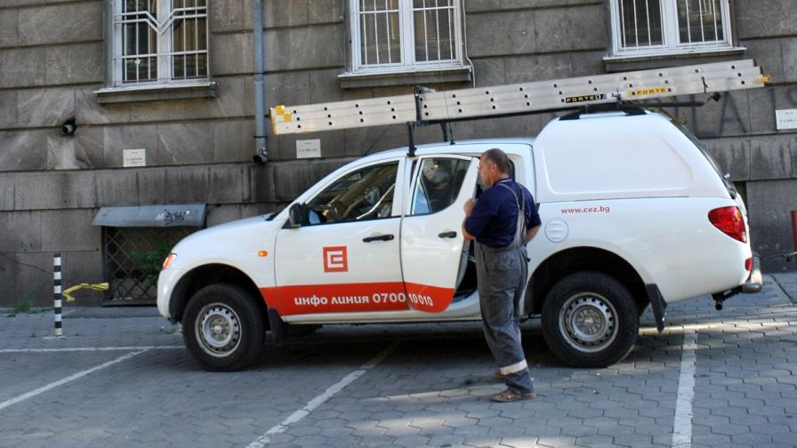 Tоков удар остави без ток голяма част от центъра на София