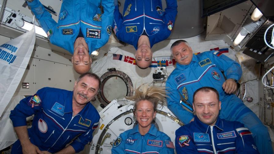Откриха защо се влошава зрението на космонавтите