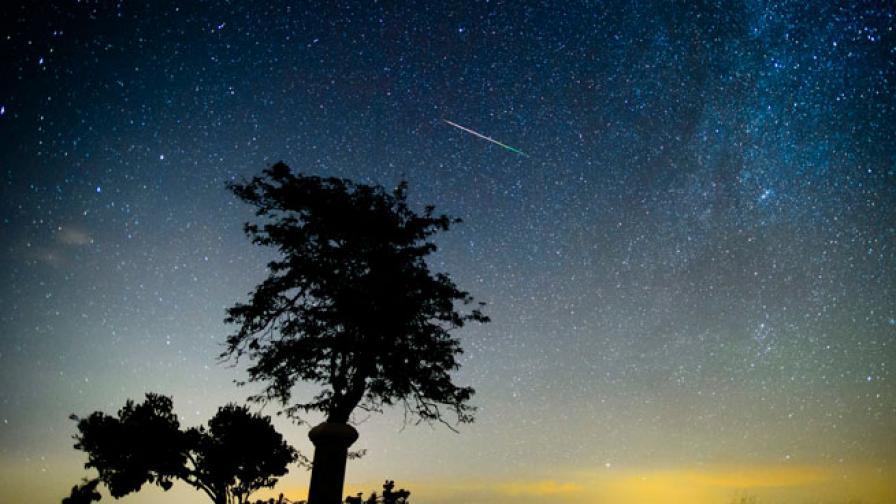На 8 и 9 октомври ще има ярък звездопад над Северното полукълбо