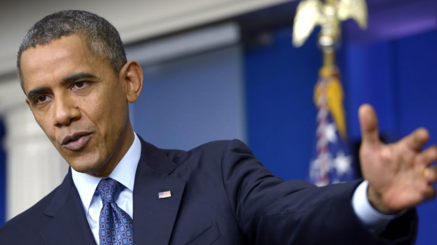 Обама: Кризата е реална, чака ни финансов хаос