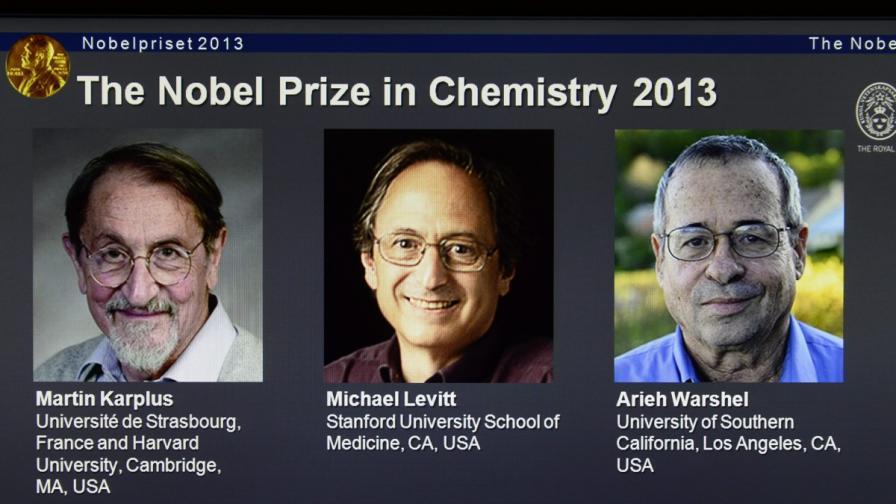 Трима учени разделиха Нобела за химия