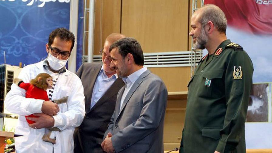 Иран предвижда да изстреля в Космоса втора маймуна