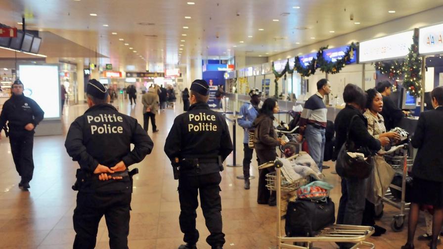 Полицията в Брюксел с операция срещу българи