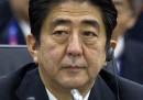 Помитаща победа на Абе заради Северна Корея