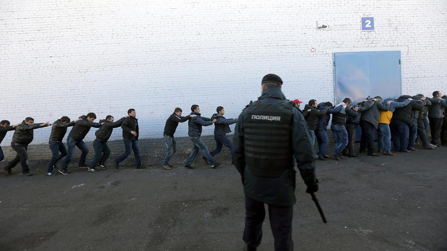 Арестуваха азербайджанец за убийството, предизвикало погроми в Москва