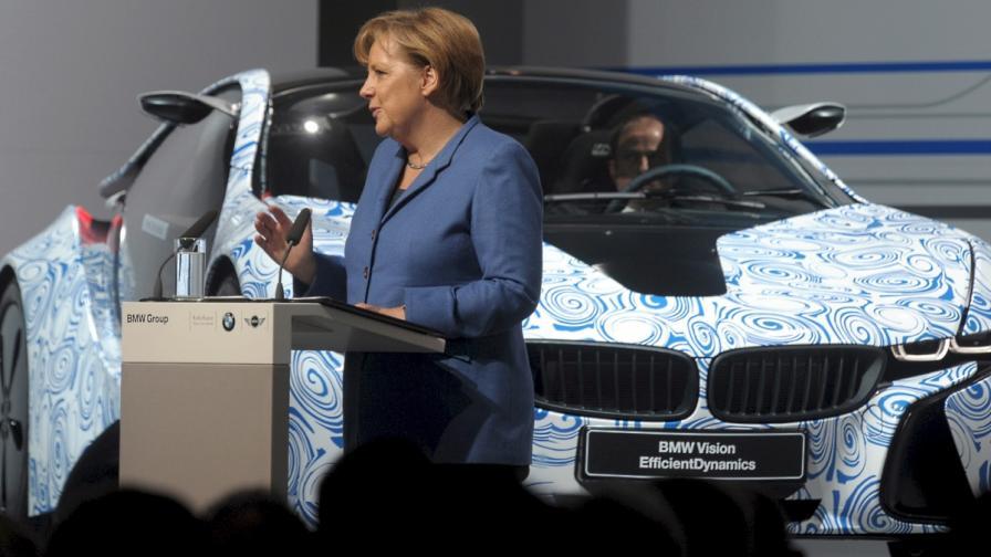 Меркел и парите на семейство Квант