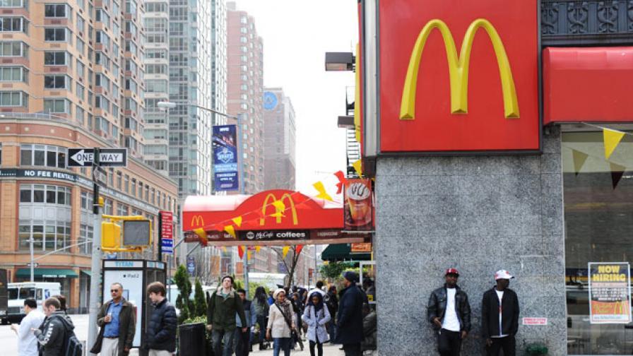 """Жена съди """"Макдоналдс"""" за 2 млн. долара - опарила се с кафе"""