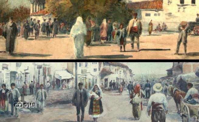 Един австриец запечатва в картините си духа на Стара София