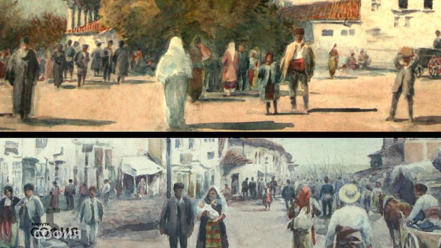 Австриец запечатва духа на Стара София в картините си