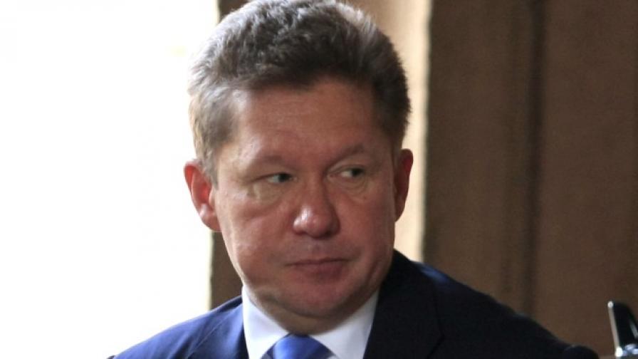 """Газпром"": Проектът ""Южен поток"" се движи по график"