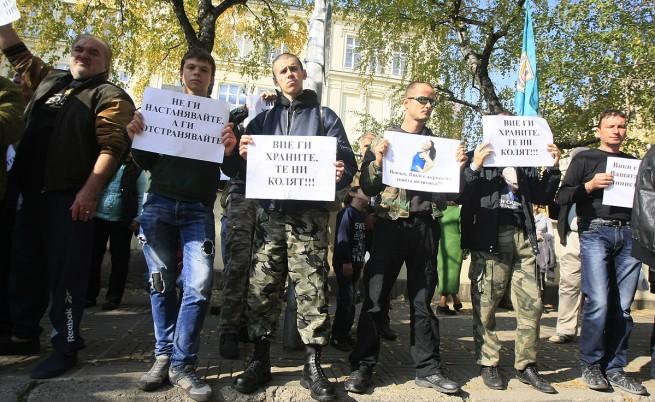 Два протеста срещу имигрантите в София