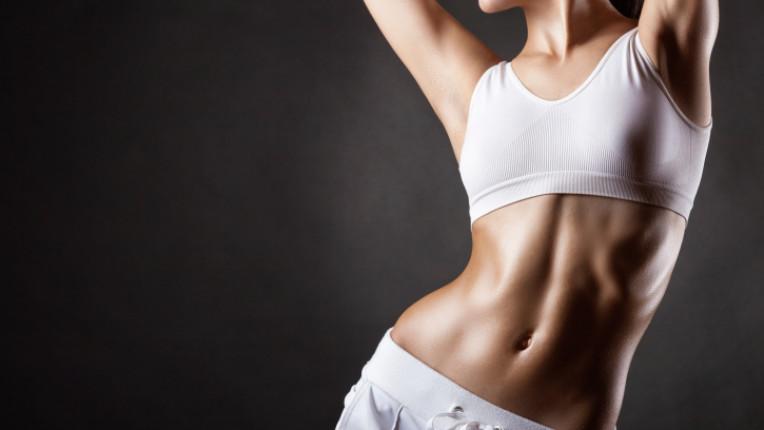 тяло корем фитнес
