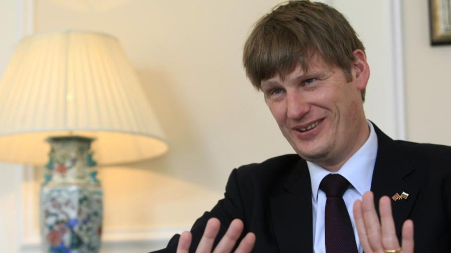 Британският посланик за България