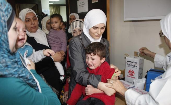 СЗО: 13 случая на полиомиелит в Сирия
