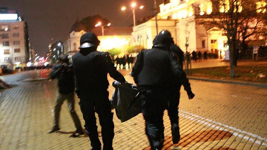 Йовчев защити действията на полицията от 12 ноември