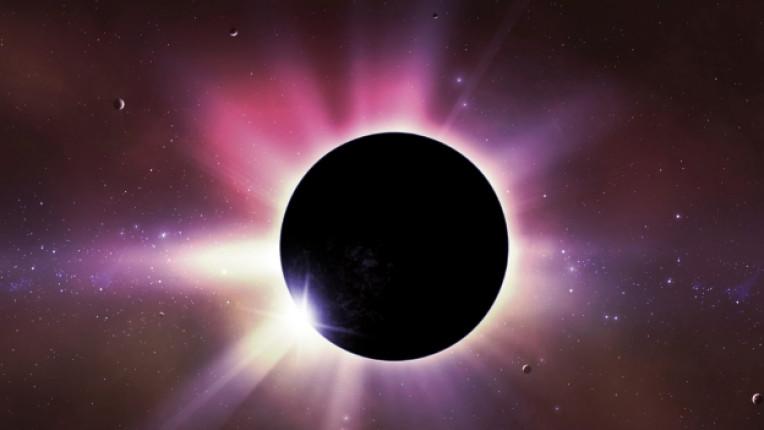 слънце затъмнение космос