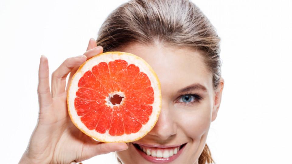 По-слаби с грейпфрут