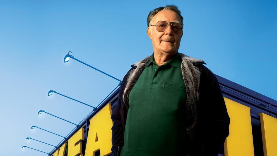 ИКЕА е основана в Швеция през 1943 г. от Ингвар Кампрад