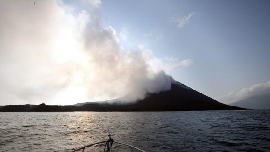 В Япония изригна подводен вулкан