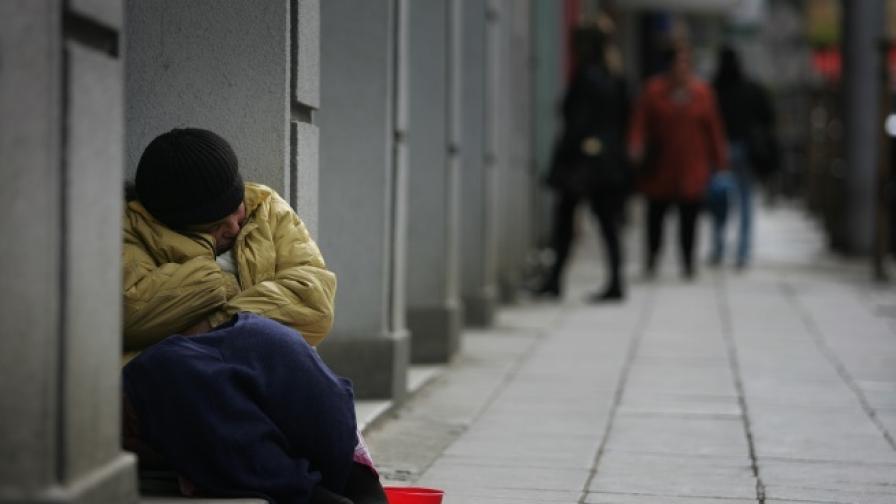 Регистрираните бездомни у нас са 1370