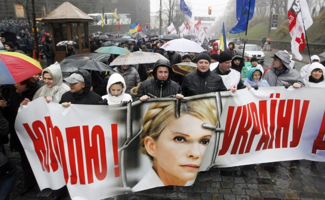 Юлия Тимошенко подкрепи протеста с гладна стачка