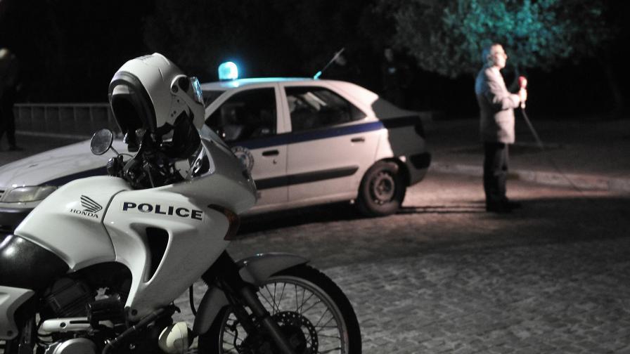 Тежка катастрофа с български тир в Гърция