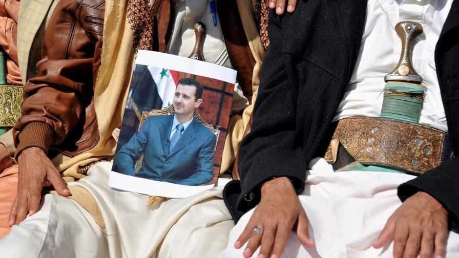 Сирийското правителство нямало да предаде властта в Женева