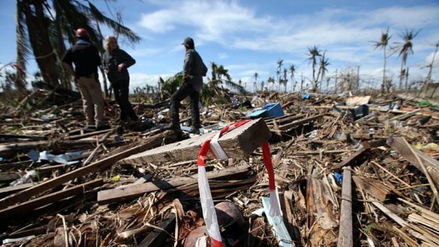 Въпреки тайфуна Филипините бележат растеж