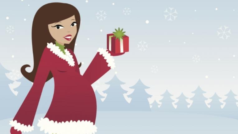 Коледа празници бременност