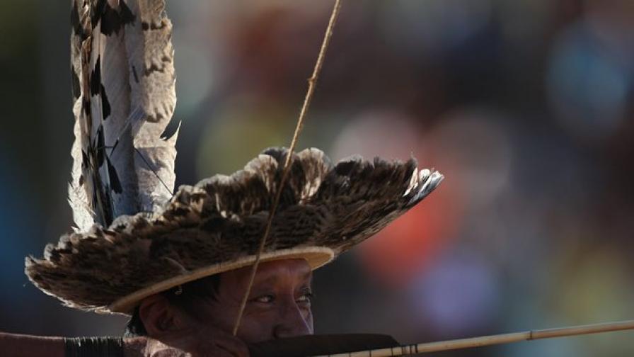 Заклаха водач на бразилски индианци