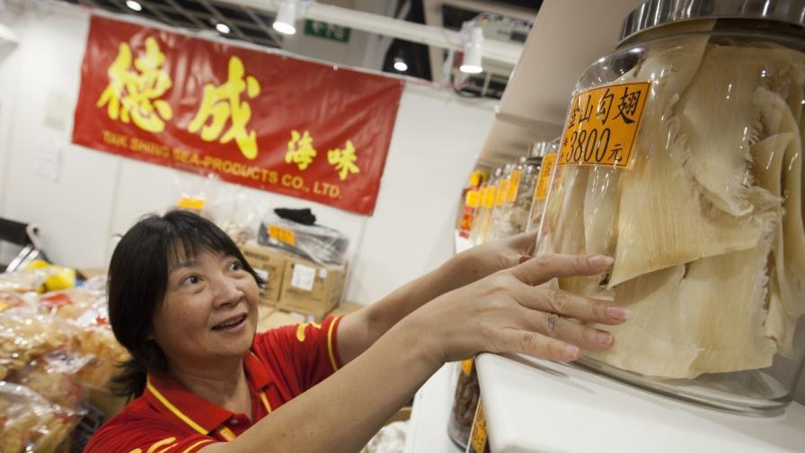 Опашката от акула е скъп деликатес в Китай