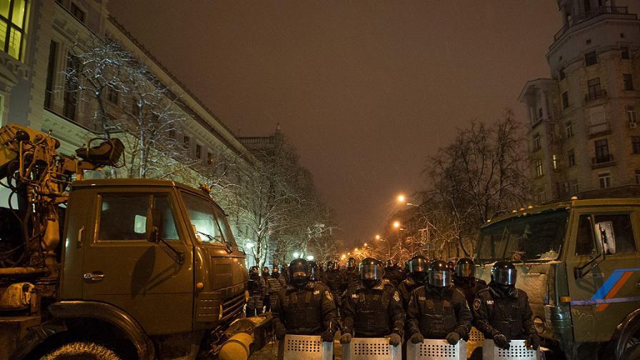 Украинските сили на реда