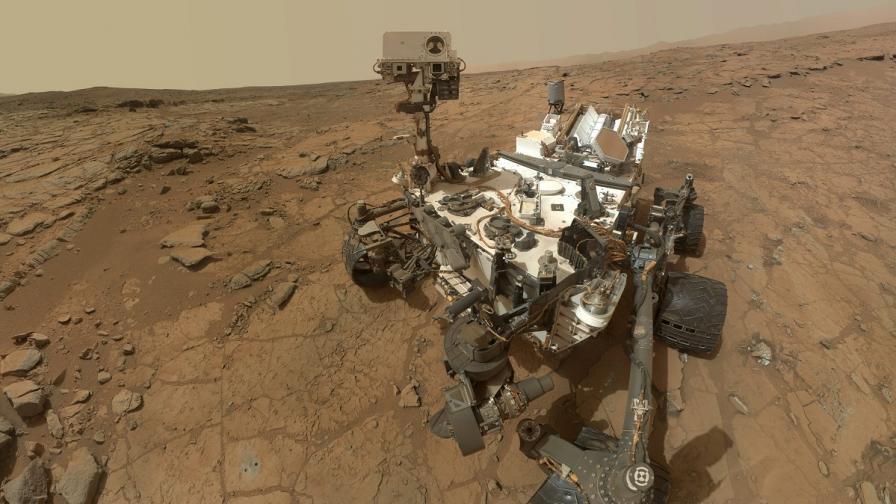 """Марсоходът """"Кюриосити"""" отново е във форма"""