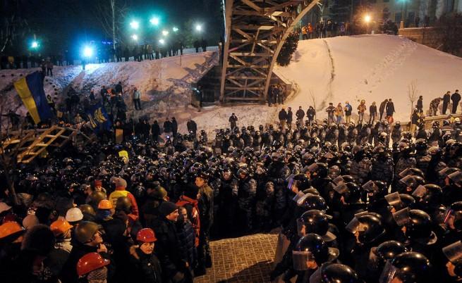 Кметът на Киев беше отстранен от длъжност за полицейското насилие