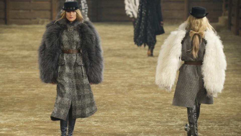 Модели от новата колекция на Chanel
