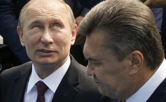 Кремъл може да подпомогне Виктор Янукович да се задържи на поста