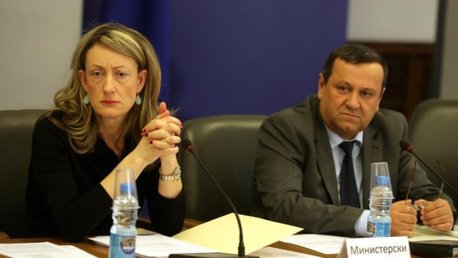 Хасан Адемов и Зинаида Златанова
