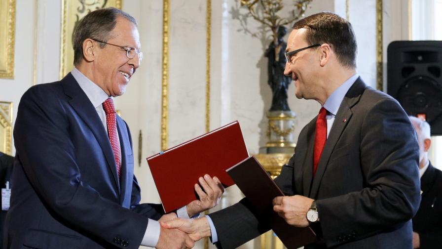 Полша и Русия подписаха историческо споразумение