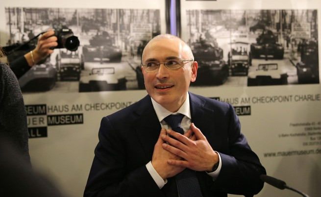 $550 млн. делят Михаил Ходорковски от Русия