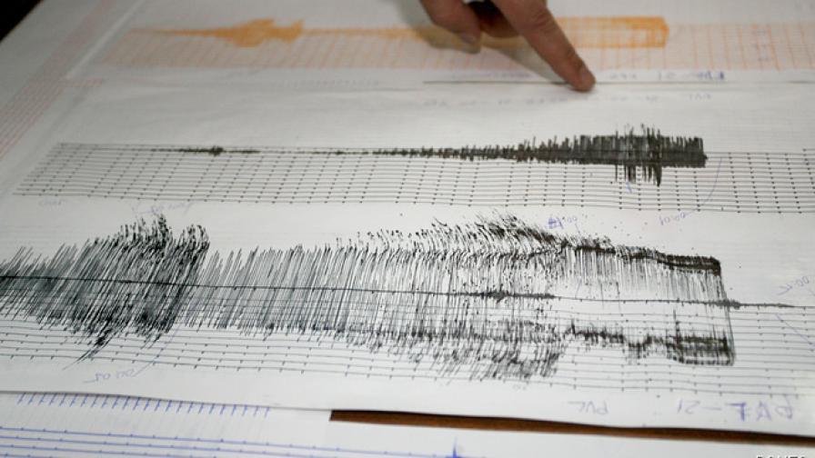 Земетресение разлюля района около Токио