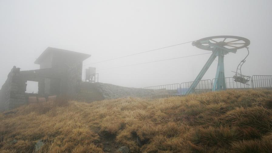 Температурен рекорд от 8.2° е измерен на Черни връх