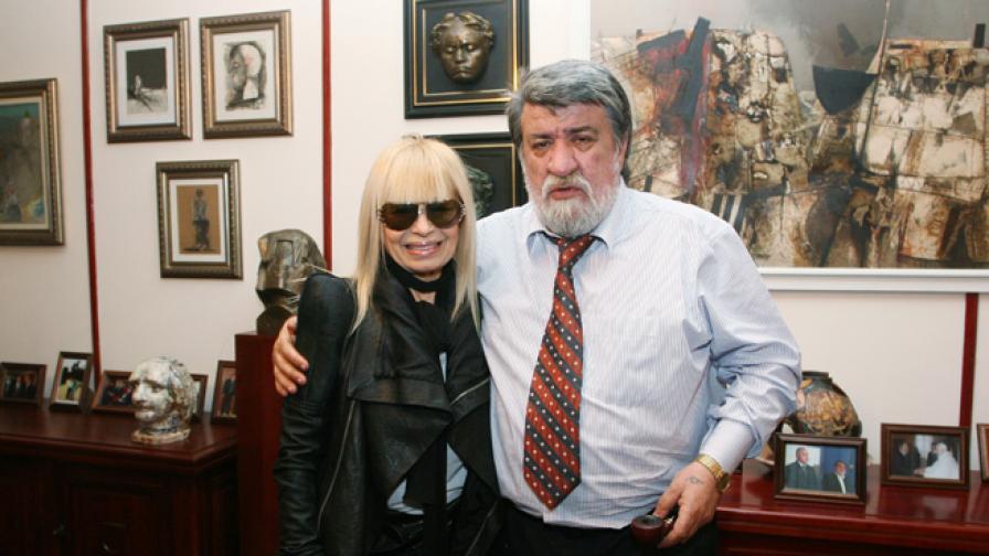 Вежди Рашидов и Лили Иванова