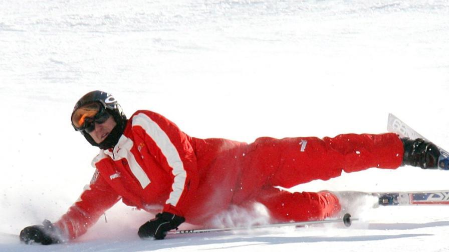 Михаел Шумахер обича ските. Тази снимка е архивна и датира от 2006 г.
